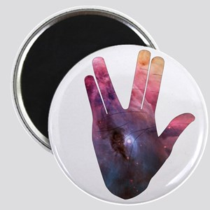 Vulcan Salute Beyond the Stars Magnets